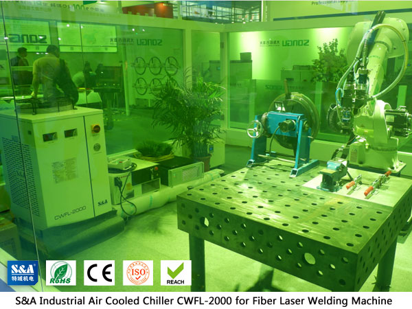 Refrigerador de água refrigerado a ar para máquina de solda a laser